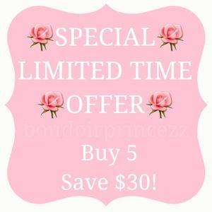 🌹SPECIAL OFFER Victoria's Secret Sale